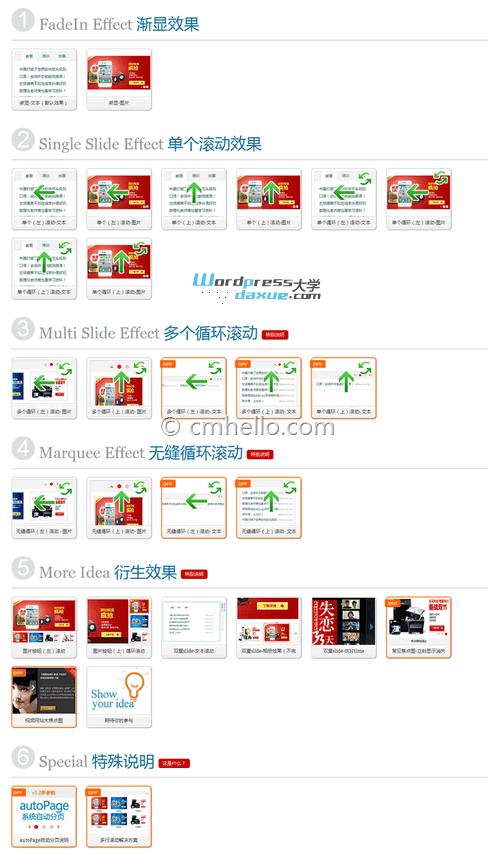 多功能 jQuery幻灯图片轮播+Tab选项卡